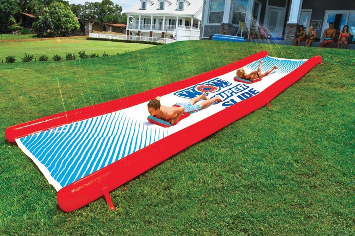 Indulge Your Kids with Any of Our Top 4 Backyard Water Slides Picks for the Summer